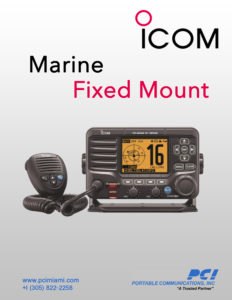 icom-marine-fixed-mount